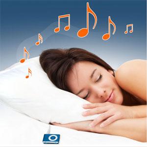 Escuchar musica mientras duermes