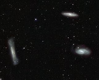 Tres galaxias