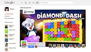 Google+ Juegos